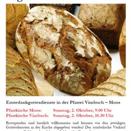 Brotbackaktion zugunsten South Horr an Erntedank